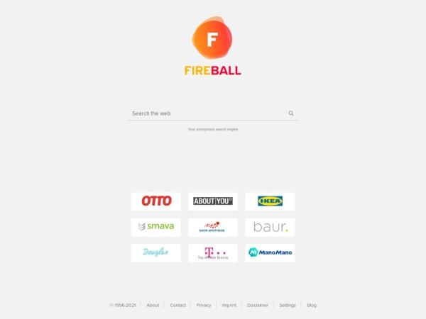 Suchmaschine Fireball.de