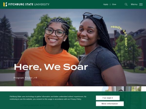 Screenshot of www.fitchburgstate.edu