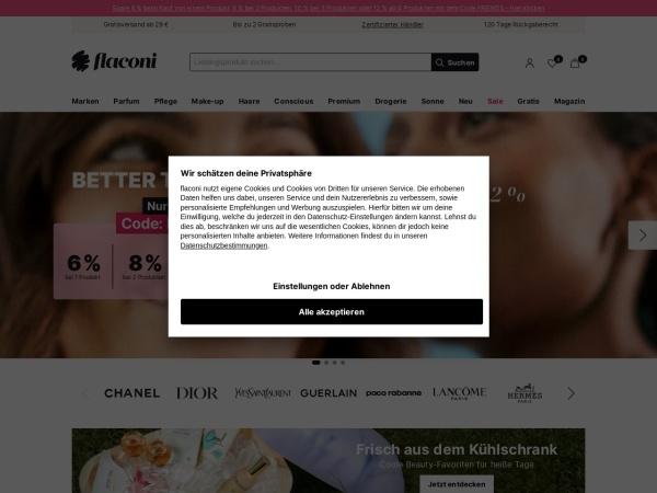 http://www.flaconi.de