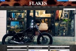 Screenshot of www.flakesmotorcycle.com