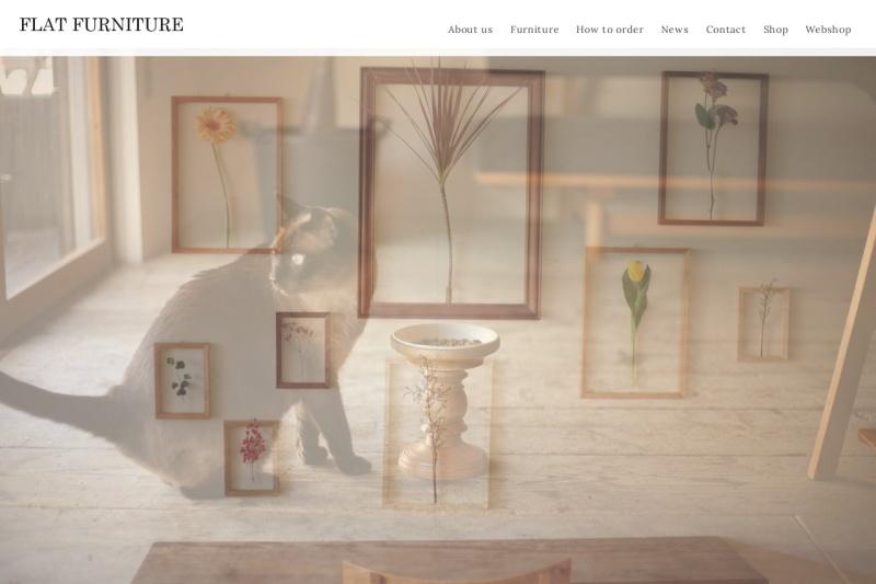 Screenshot of www.flatfurniture.com