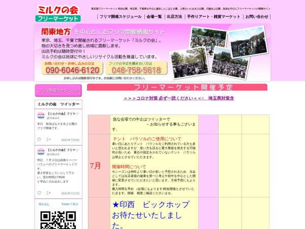 Screenshot of www.flma.jp
