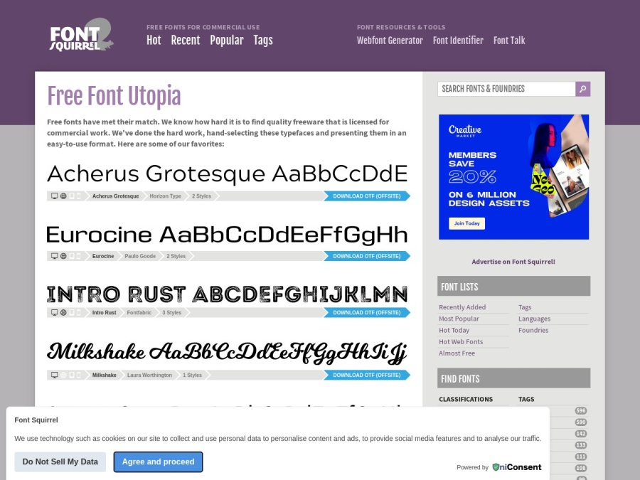 http://www.fontsquirrel.com/