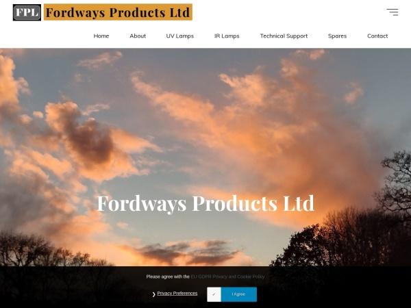 Screenshot of www.fordways.com