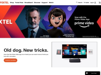 Foxtel IQ3 Website
