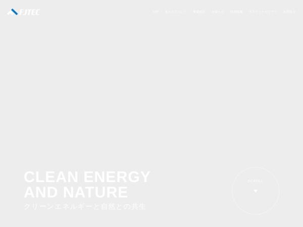 Screenshot of www.fuji-technical.jp