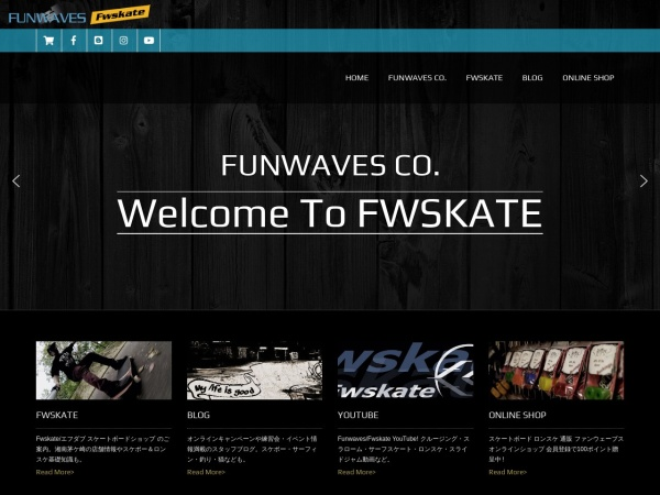 Screenshot of www.funwaves.biz