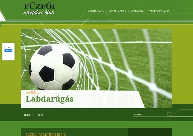 Screenshot of www.fuzfoak.hu