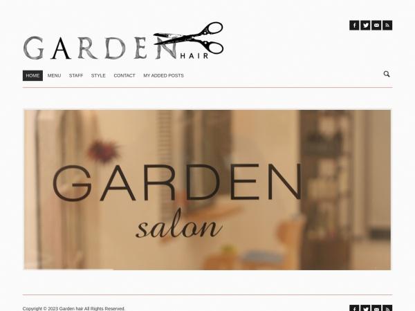 Screenshot of www.garden-hair.com