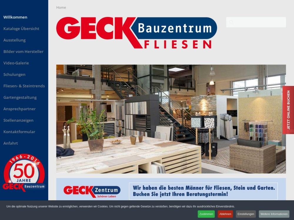 Screenshot of www.geck-fliesenstudio.de