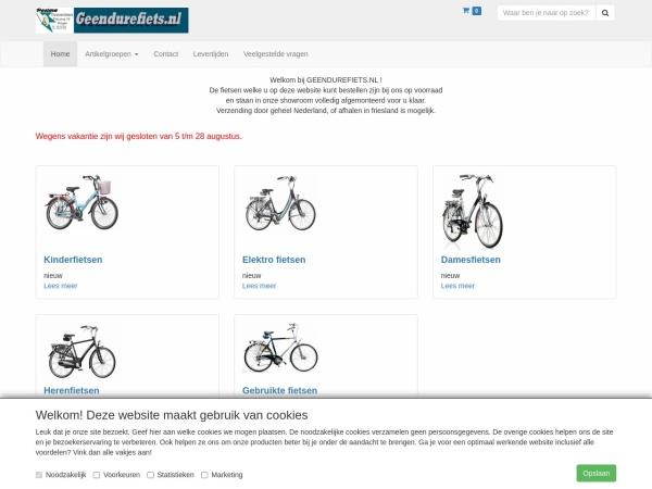 http://www.geendurefiets.nl