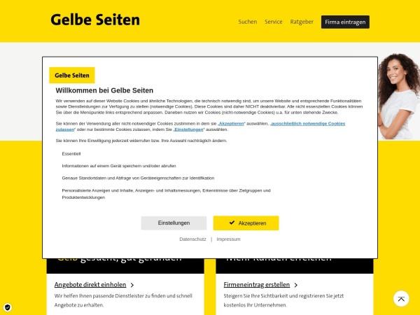 Suchmaschine GelbeSeiten.de