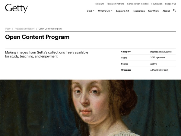 http://www.getty.edu/about/opencontent.html