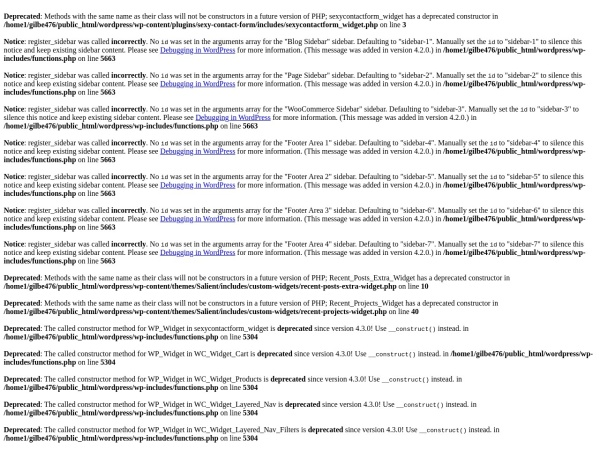 Screenshot of www.gilbertomagno.com