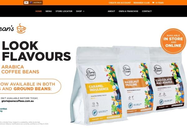 http://www.gloriajeanscoffees.com.au
