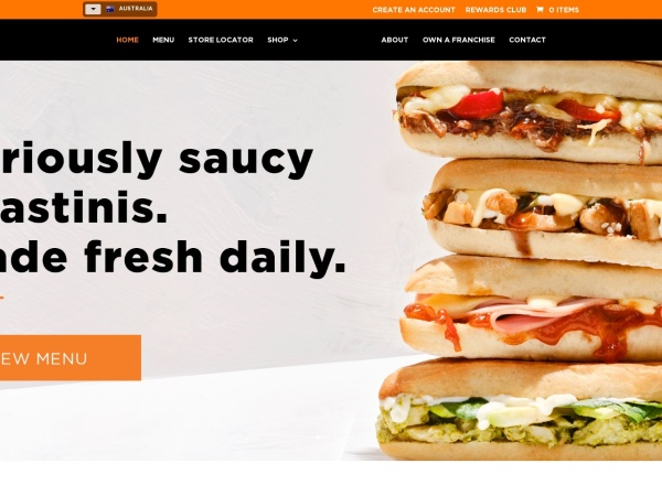 Screenshot of www.gloriajeanscoffees.com.au
