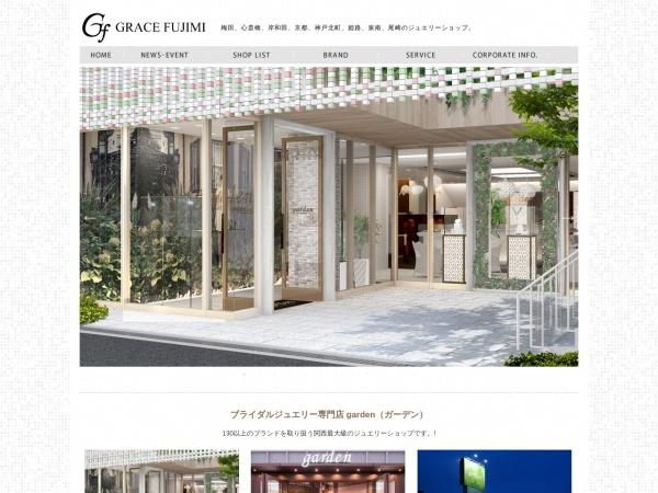 Screenshot of www.gracefujimi.co.jp