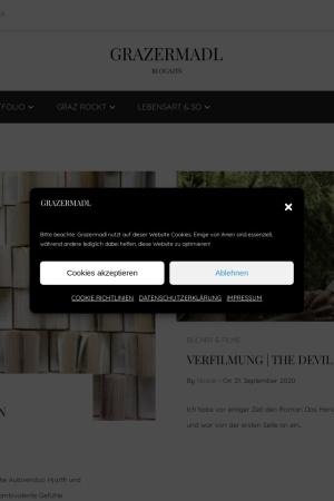 Screenshot of www.grazermadl.com