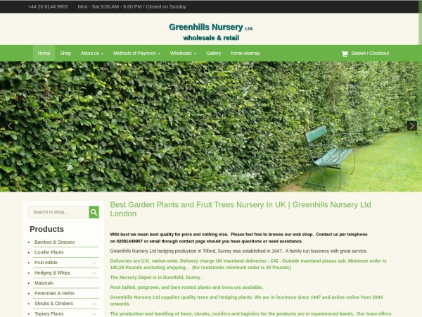 http://www.greenhills-nursery.co.uk