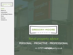 Screenshot of www.gregorymooreproperty.co.uk