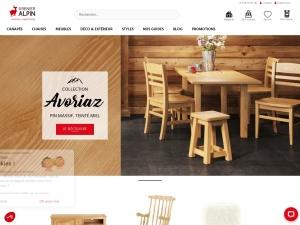 Grenier Alpin Spécialiste du meuble en bois