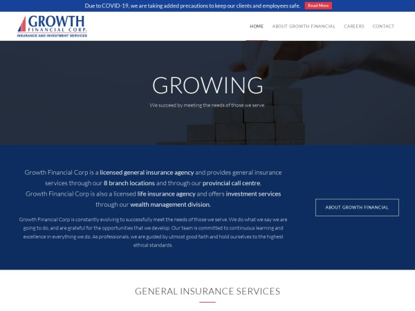 Screenshot of www.growthfinancial.ca