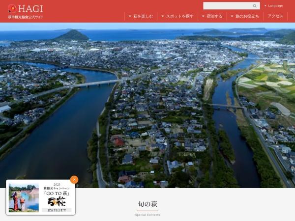 Screenshot of www.hagishi.com