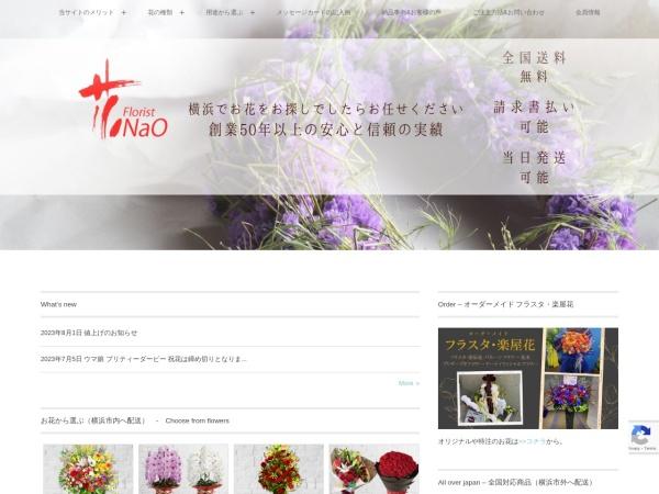 Screenshot of www.hana-nao.com