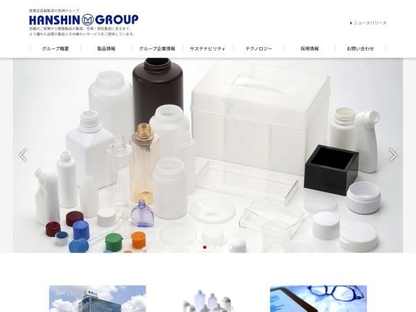 Screenshot of www.hanshin-group.co.jp