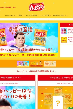 Screenshot of www.happyturn.com