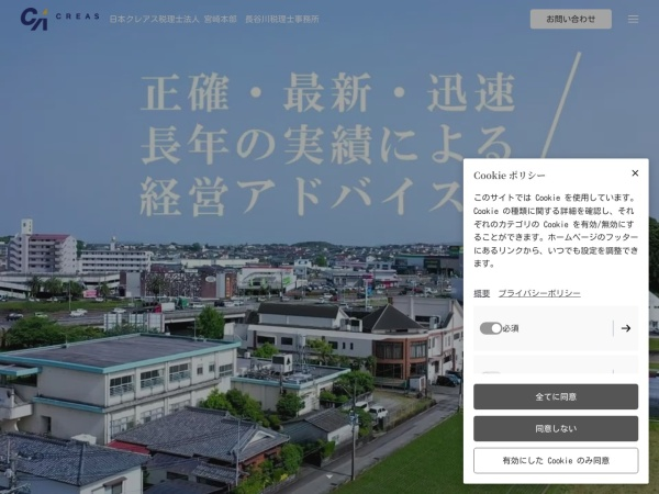 Screenshot of www.hase-consul.co.jp
