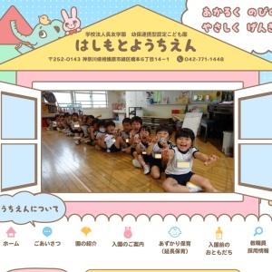 Screenshot of www.hashimoto.ednet.jp