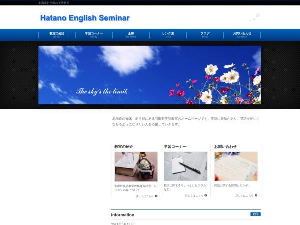 Screenshot of www.hatano-es.com