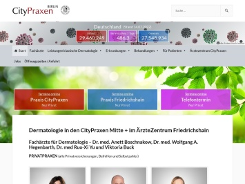Screenshot of www.hautarzt-praxis-berlin-mitte.de