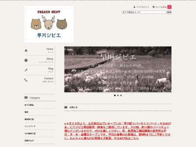 Screenshot of www.hayakawagibier.com