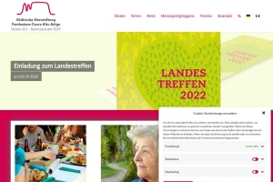 Screenshot of www.herzstiftung.org