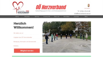 Screenshot of www.herzverband-ooe.at