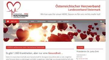 Screenshot of www.herzverband-stmk.at