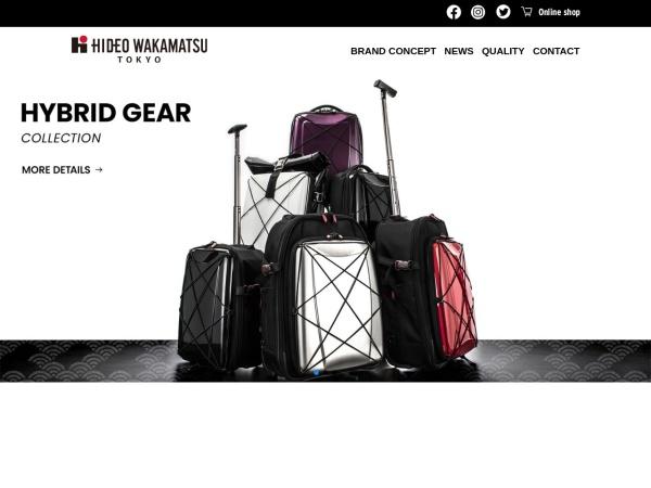 Screenshot of www.hideo-wakamatsu.com