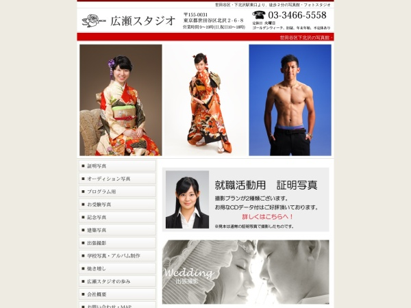 Screenshot of www.hirose-st.com