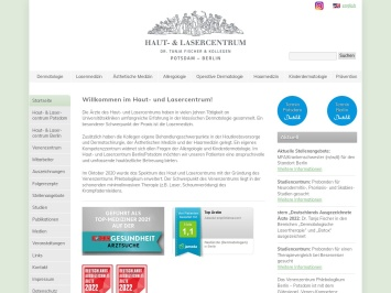 Screenshot von www.hlcp.de