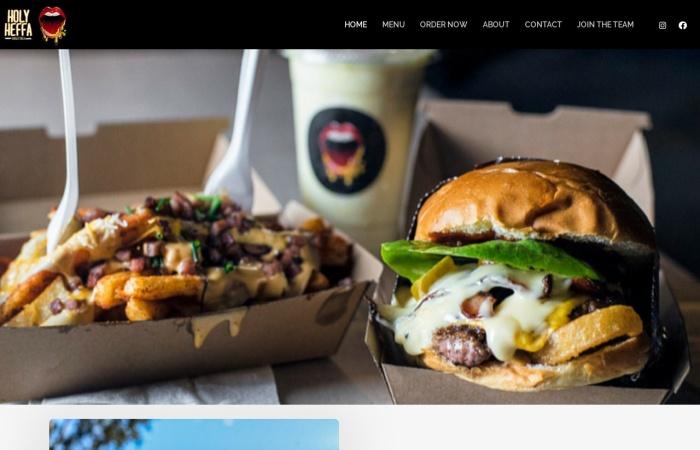 Screenshot of www.holyheffa.com.au