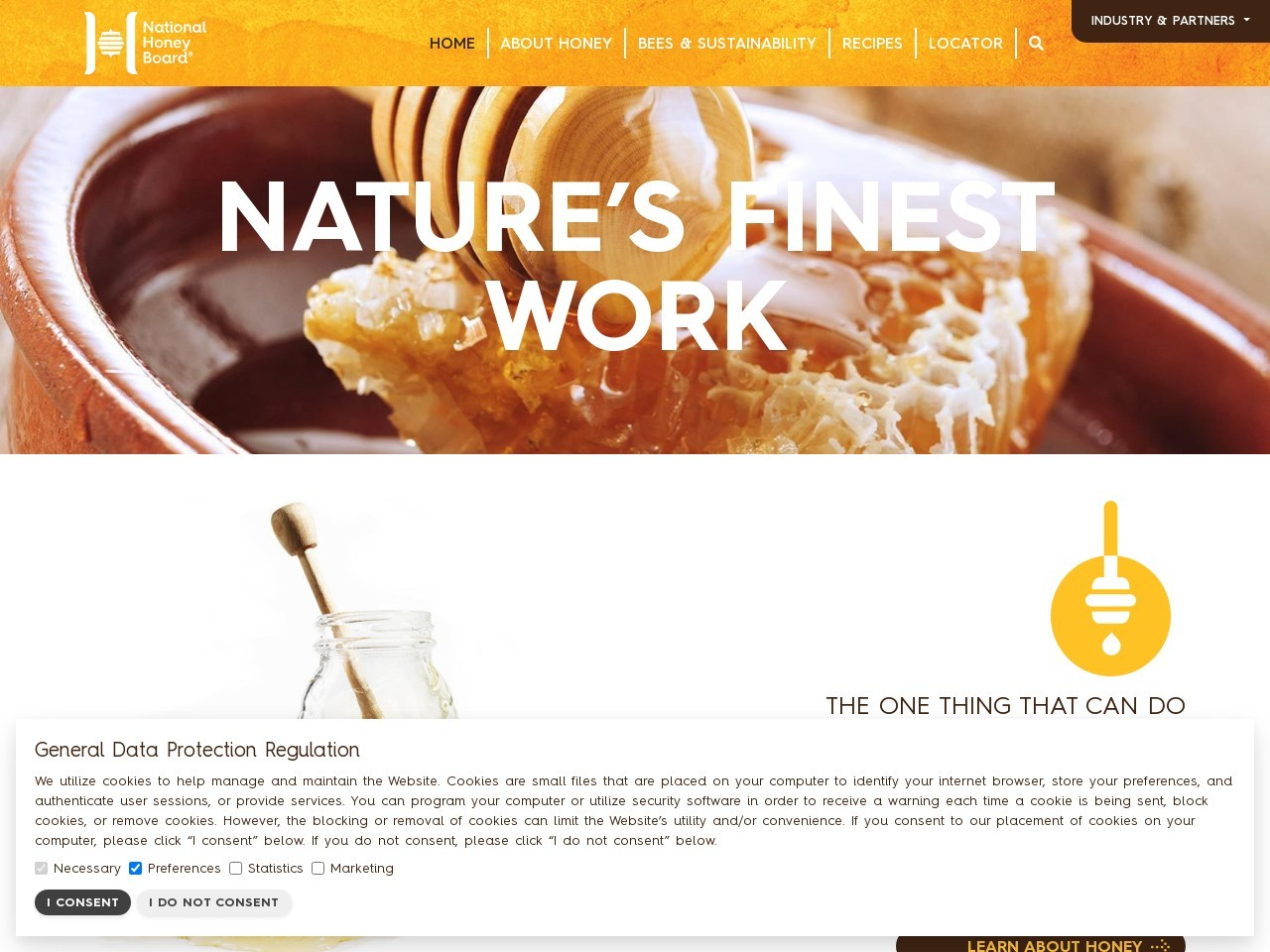 National Honey Board; National Honey Board | Recipes, Local Honey, Research, Information