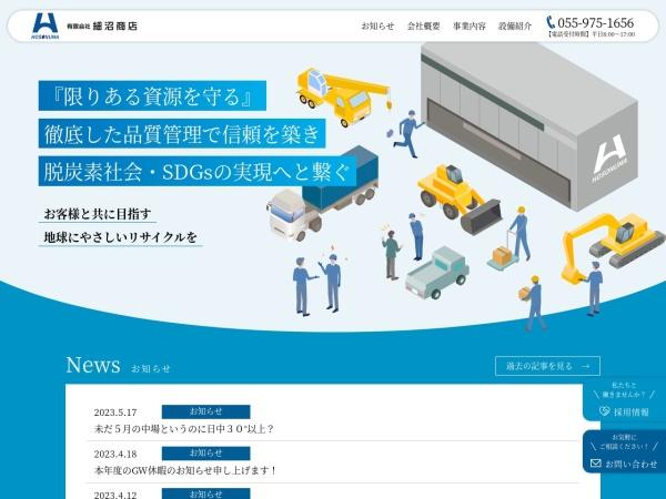 Screenshot of www.hosonuma-s.co.jp