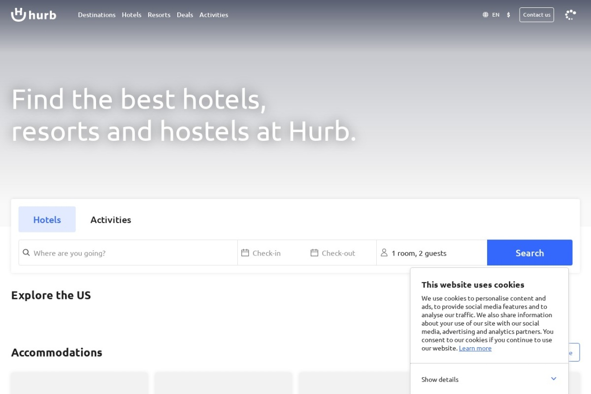 Screenshot of www.hotelurbano.com