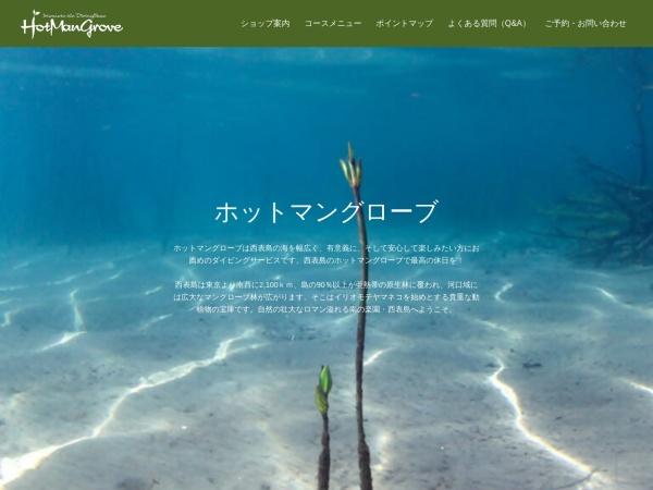 Screenshot of www.hotmangrove.com