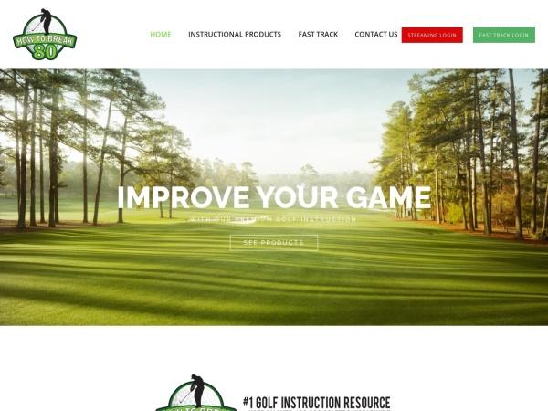Screenshot of www.howtobreak80.com
