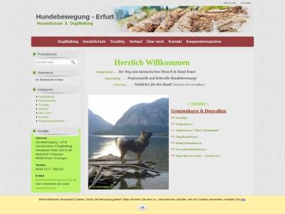 hundebewegung-erfurt.de