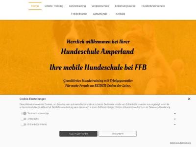 hundeschule-amperland.de