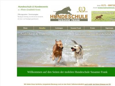 hundeschule-frank.de